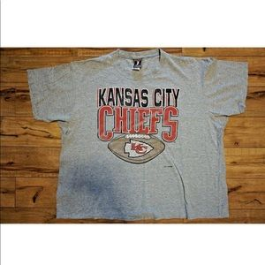 VTG Kansas City Chiefs 1993 Gray Shirt Size 3XL